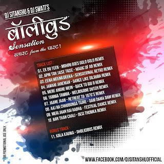 Bollywood Sensation Blast From The Past - DJ Sitanshu & DJ Swati's