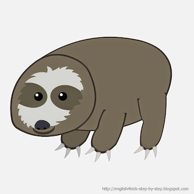 sloth clip art for teachers