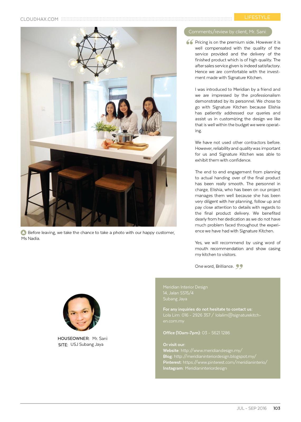 Meridian Interior Design And Kitchen Design In Kuala Lumpur Selangor Malaysia Modern