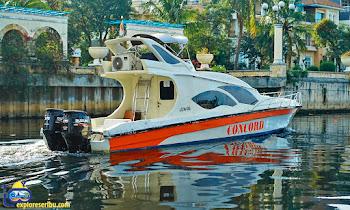 rental kapal speedboat marina ancol - concord