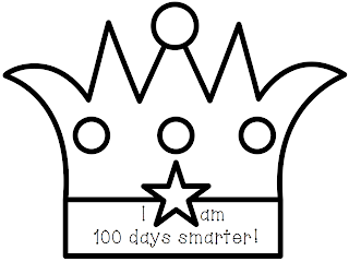 Template for 100 day crowns search results calendar 2015 for 100th day hat template