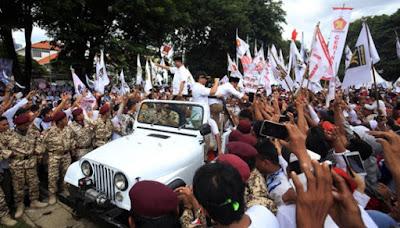 Partai Gerindra Dumai Resmi Mendaftar Ke KPUD