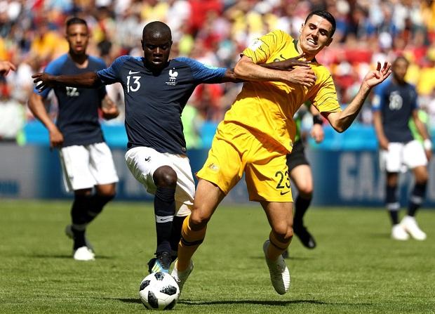 Mondial 2018: La France se sort péniblement du piège australien