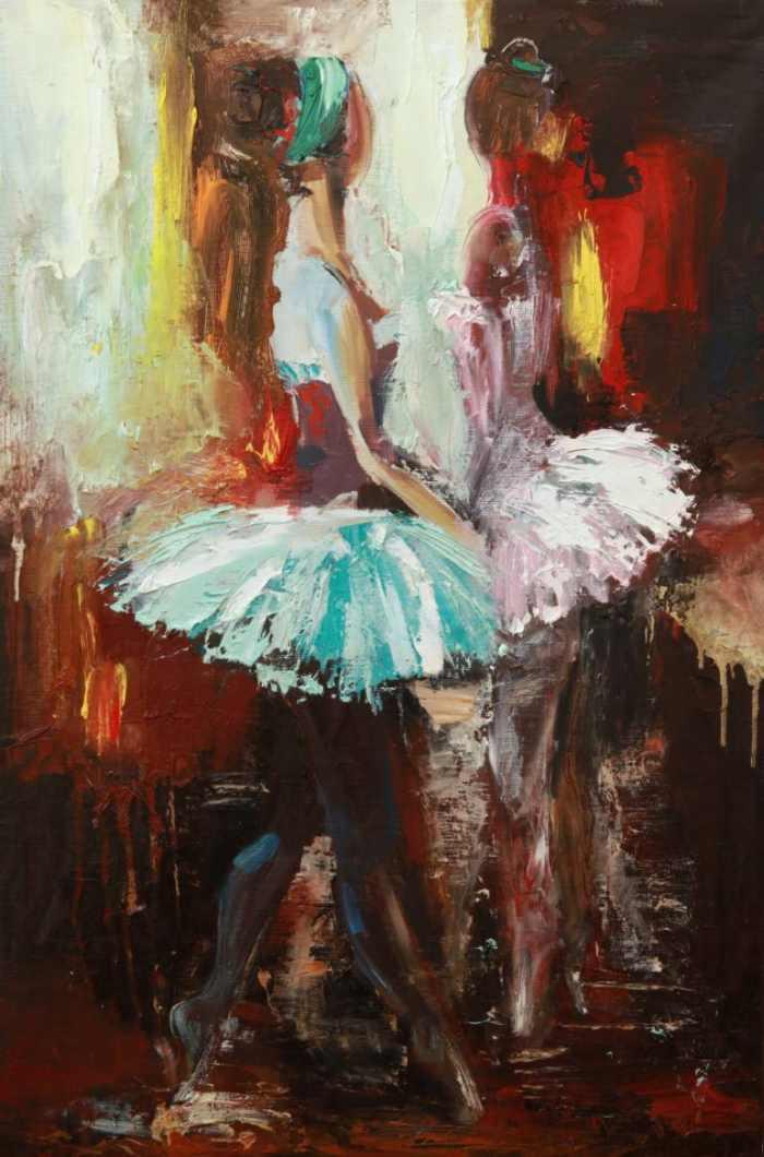 Молодой молдавский художник. Valeria Duca