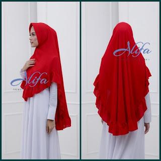 jilbab-khimar-polos-rempel-terbaru-alifa-hijab