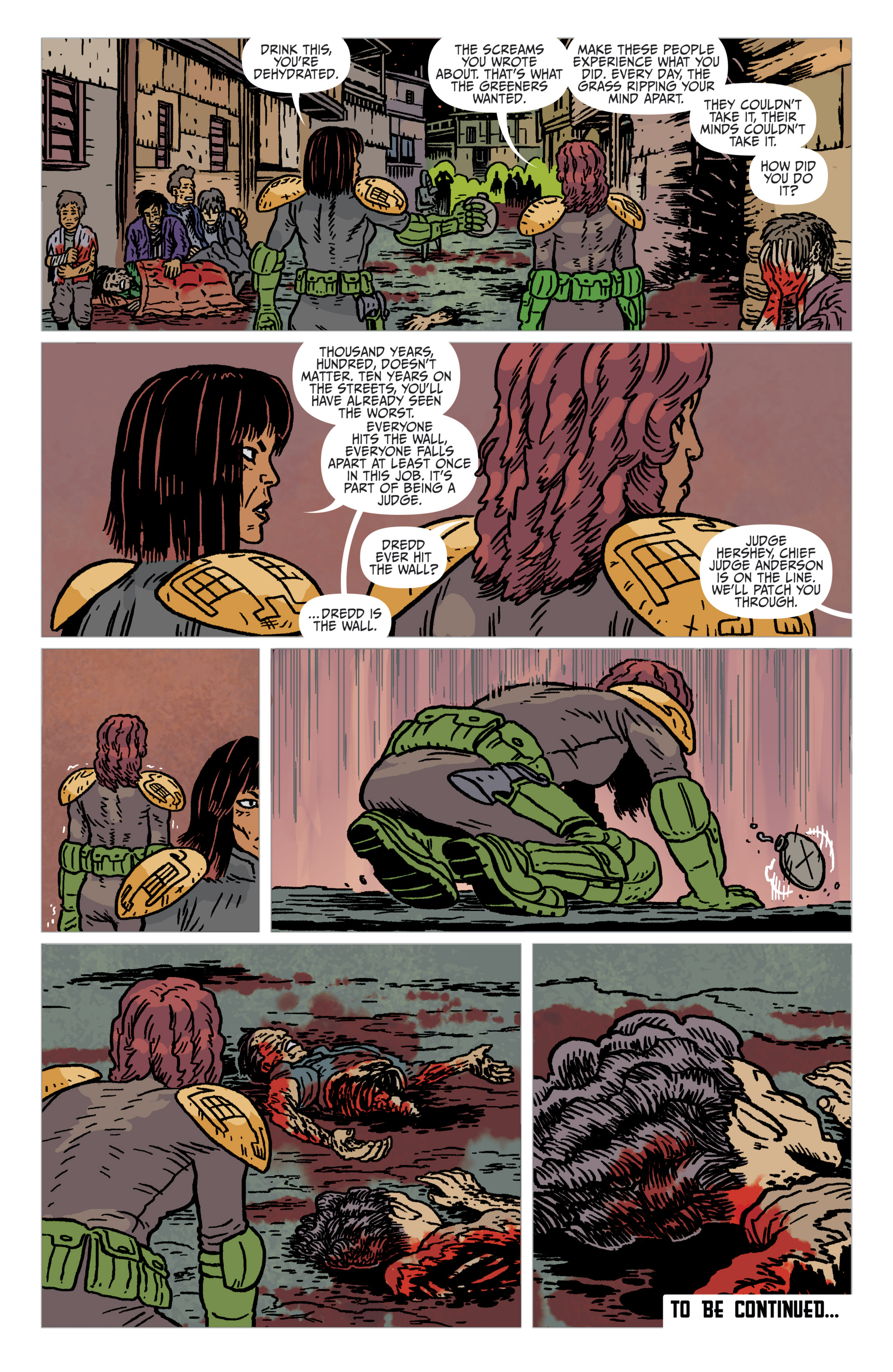 Read online Judge Dredd: The Blessed Earth comic -  Issue #2 - 24