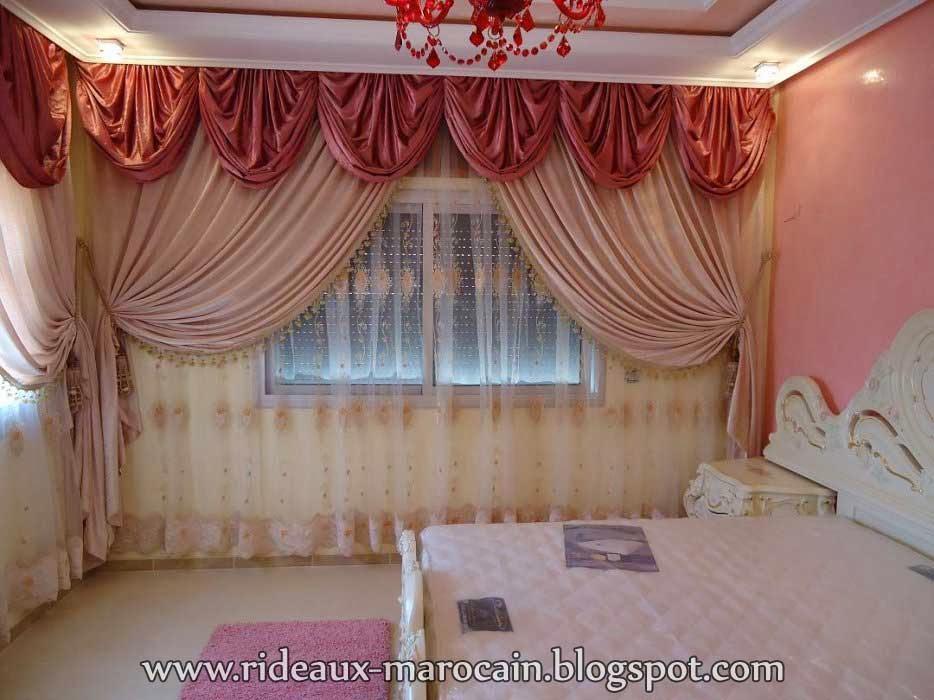 Rideaux marocain - Modele rideaux chambre a coucher ...