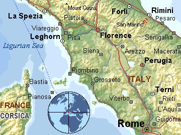toskana italija mapa Per@ Travel: 2011 toskana italija mapa