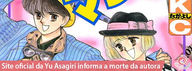 Site oficial da Yu Asagiri anuncia a morte da autora