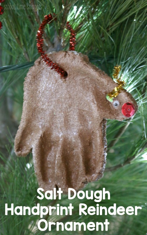 Handprint Reindeer Keepsake Crafts