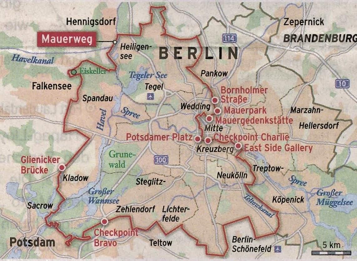 Grenze Berlin Ost West
