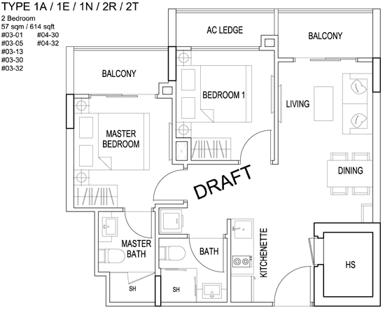 Kensington square condo floor plan highlights for 1 bedroom condo floor plans