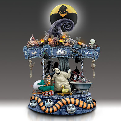 Nightmare Before Christmas Rotating Musical Carousel