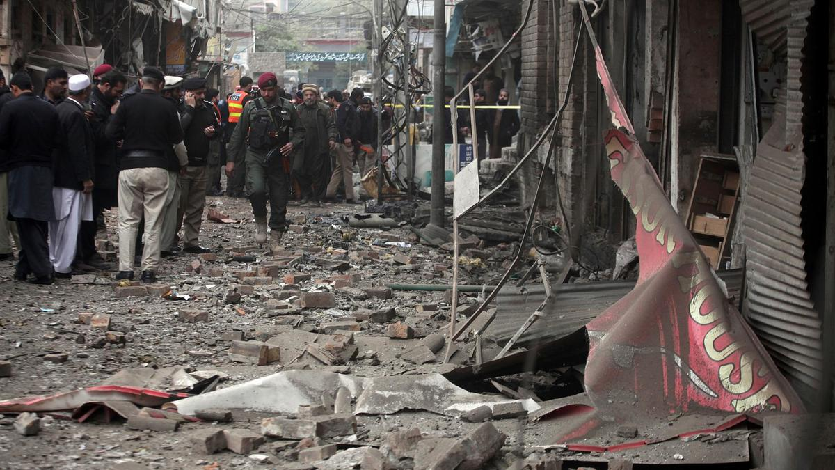 Car Bomb Blast In Peshawar