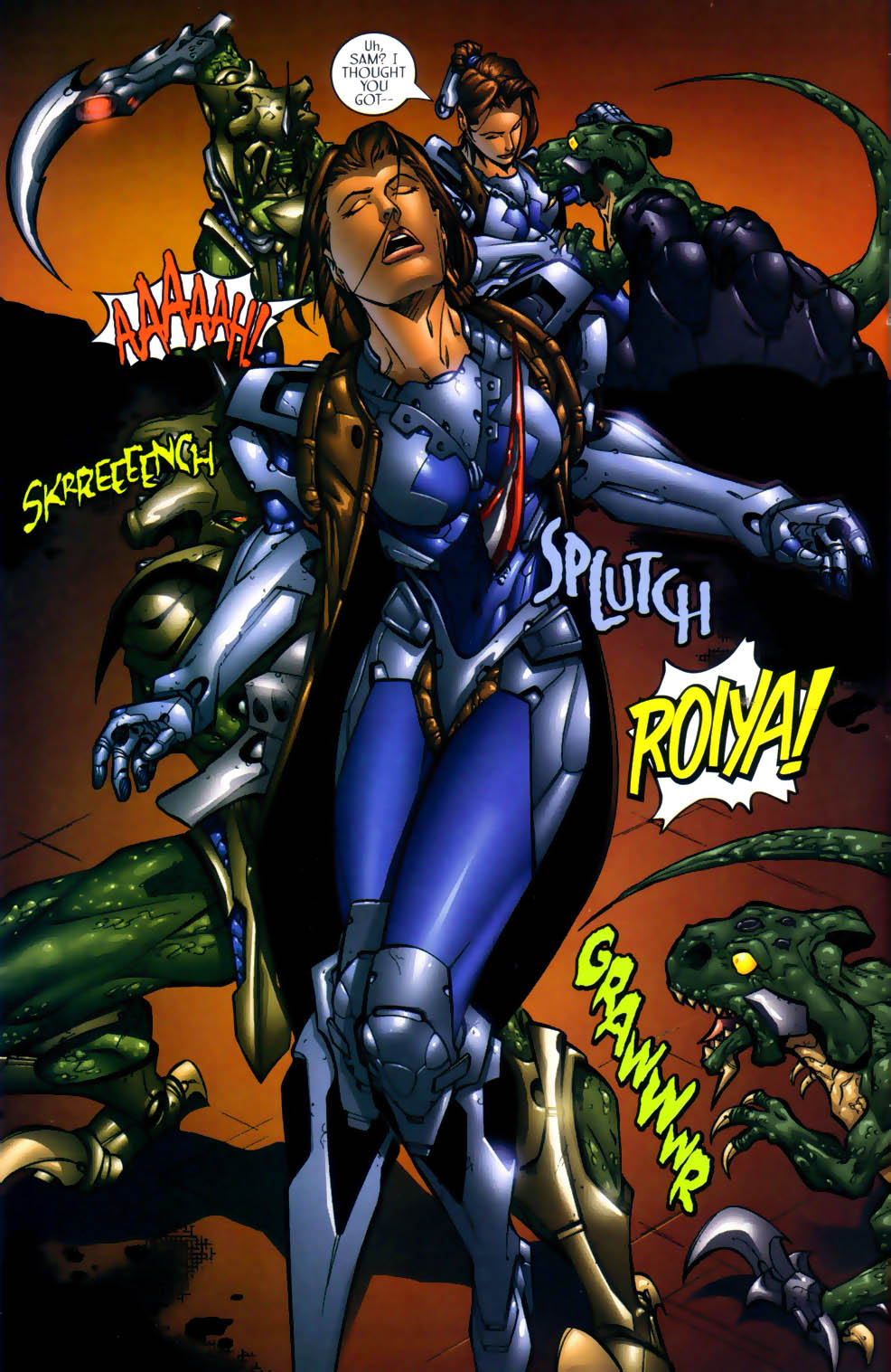 Read online Sigil (2000) comic -  Issue #1 - 23