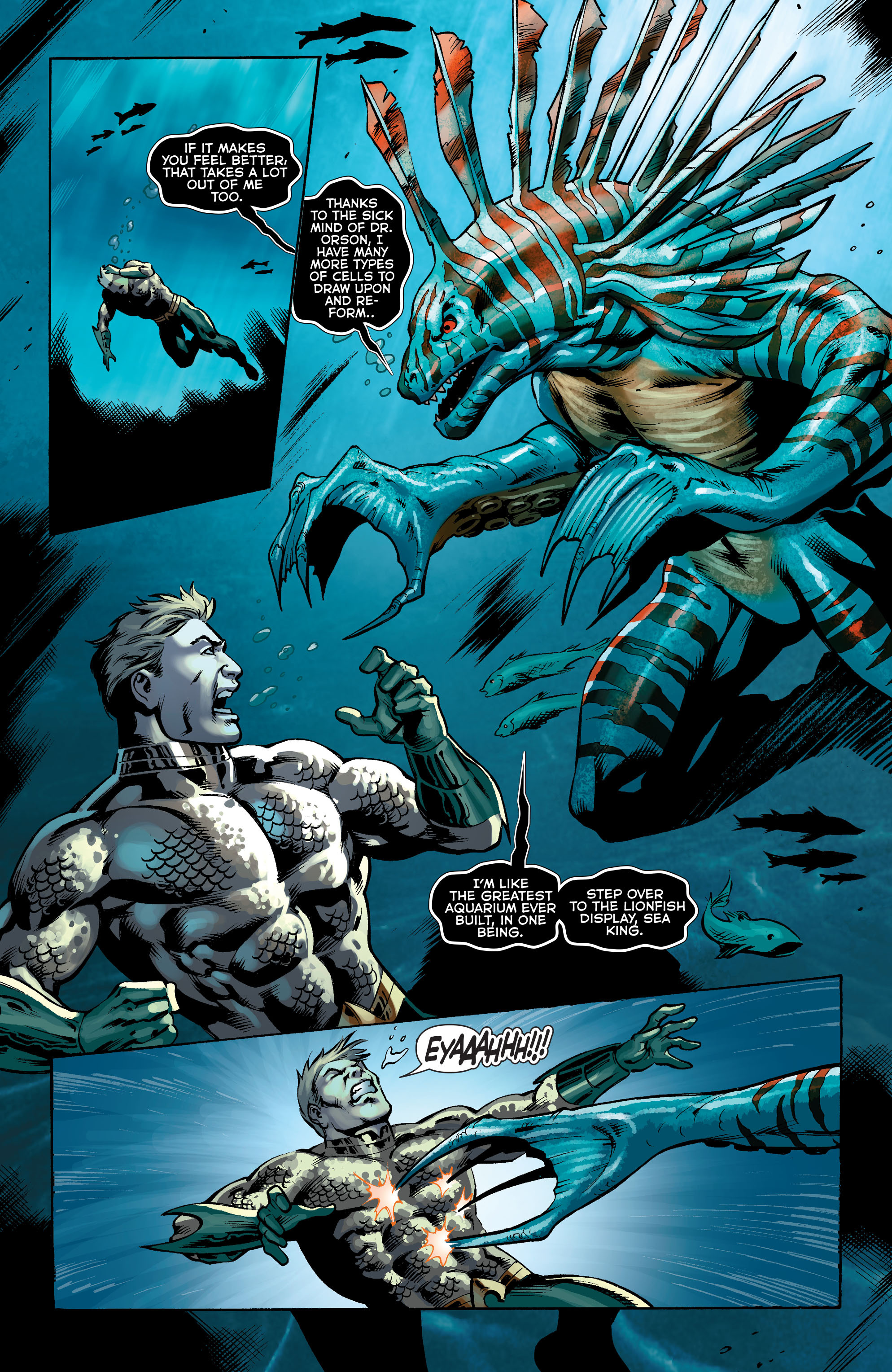 Read online Aquaman (2011) comic -  Issue #34 - 5