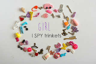 TomToy Girl theme I spy trinkets, I spy bag supply, I spy bottle miniatures, eye spy objects, findings, i spy knick-knacks, eyespy trinkets