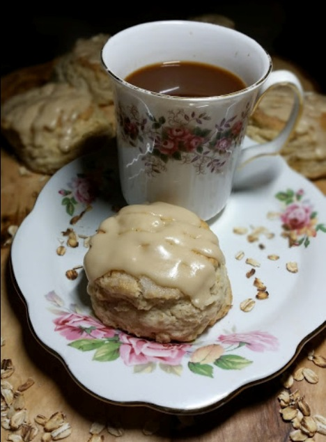 The Bestest Recipes Online: Oatmeal Scones with Maple ...