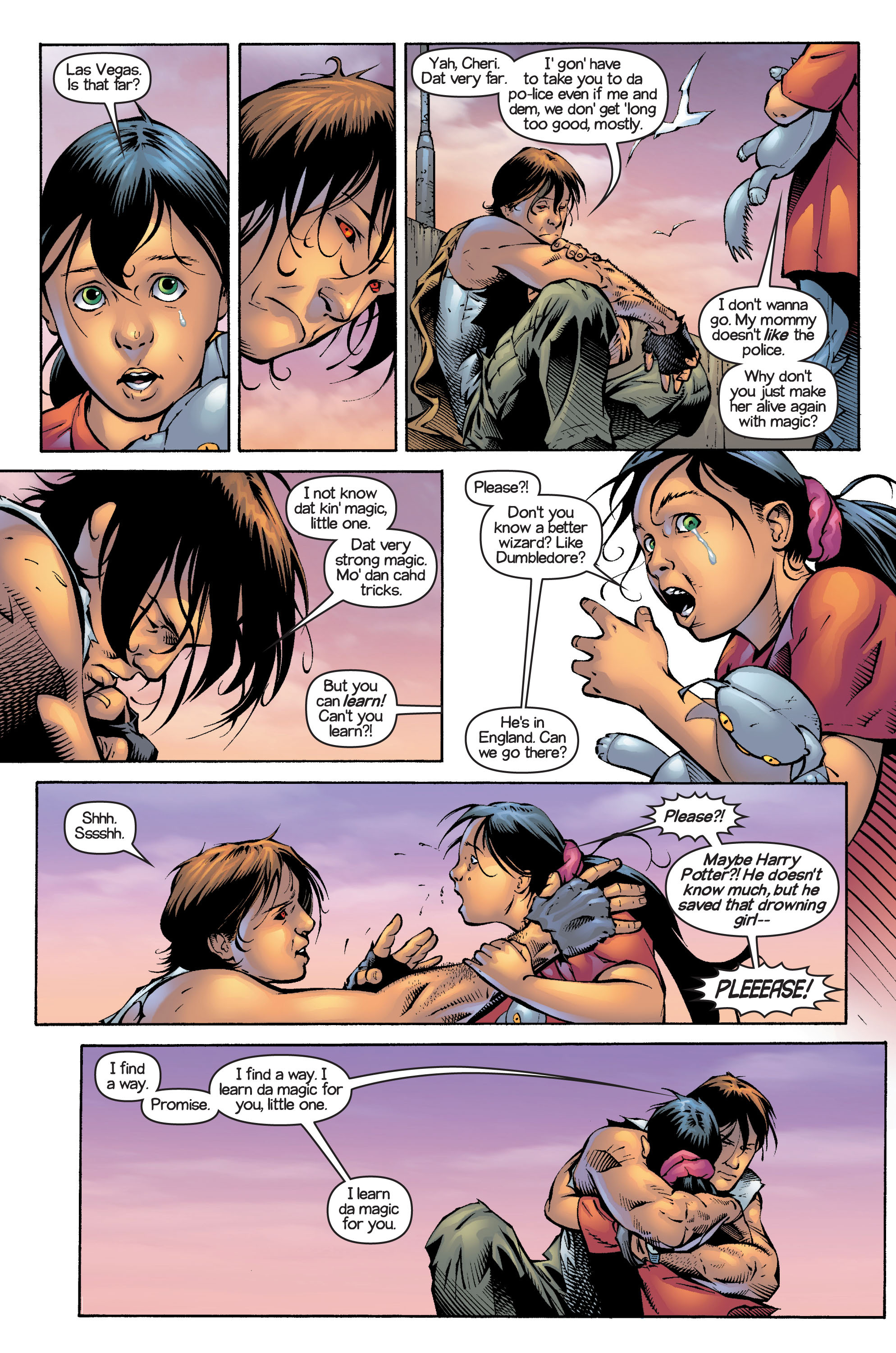 Read online Ultimate X-Men comic -  Issue #13 - 15