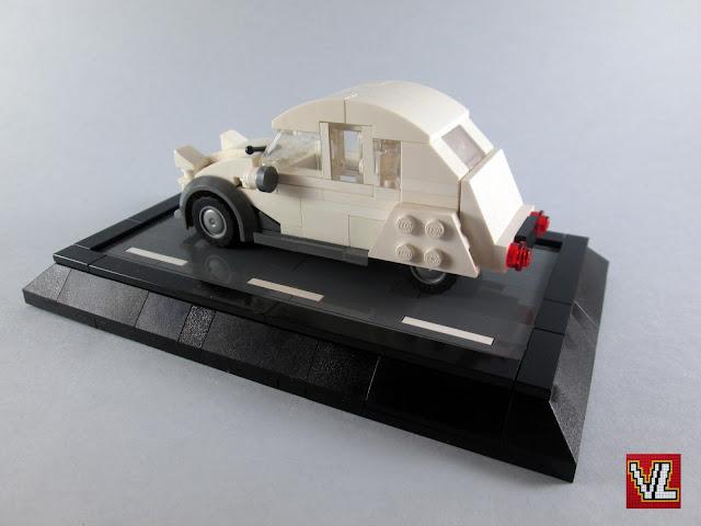 MOC LEGO Citroen 2CV