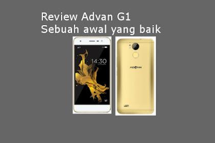Review Advan G1, sebuah awal yang baik