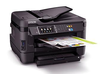Epson WF-7620 printer