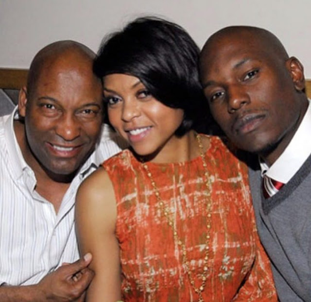 Taraji P Henson and Tyrese's emotional tribute to John Singleton