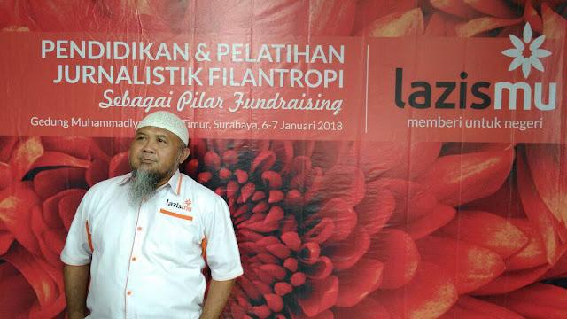Ust. Zainul Muslimin Ketua Badan Pengurus Lazismu Jawa Timur