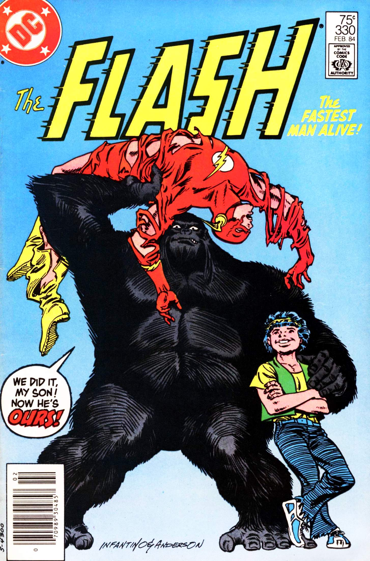 The Flash (1959) 330 Page 1