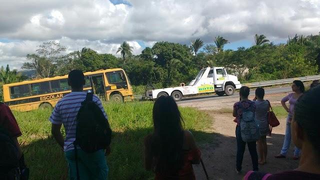 Ônibus universitário de Ubajara é apreendido pela PRF de Tianguá
