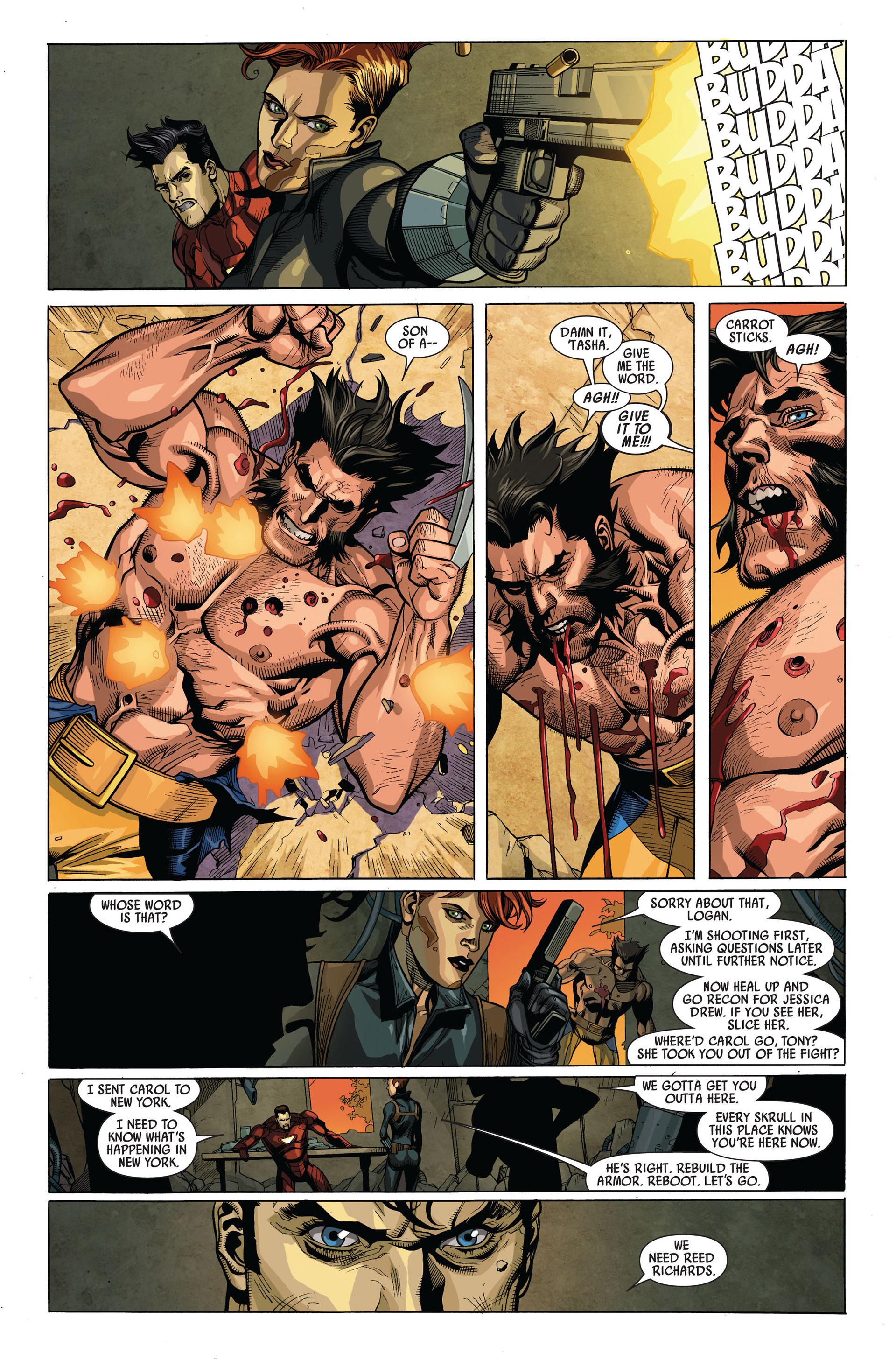 Read online Secret Invasion comic -  Issue #4 - 15