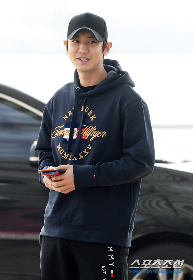 [Airport Fashion] 190301 CHANYEOL @ Incheon International Airport