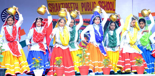 Celebrated Republic Day Celebration by Faridabad, Shaktipeeth Public School
