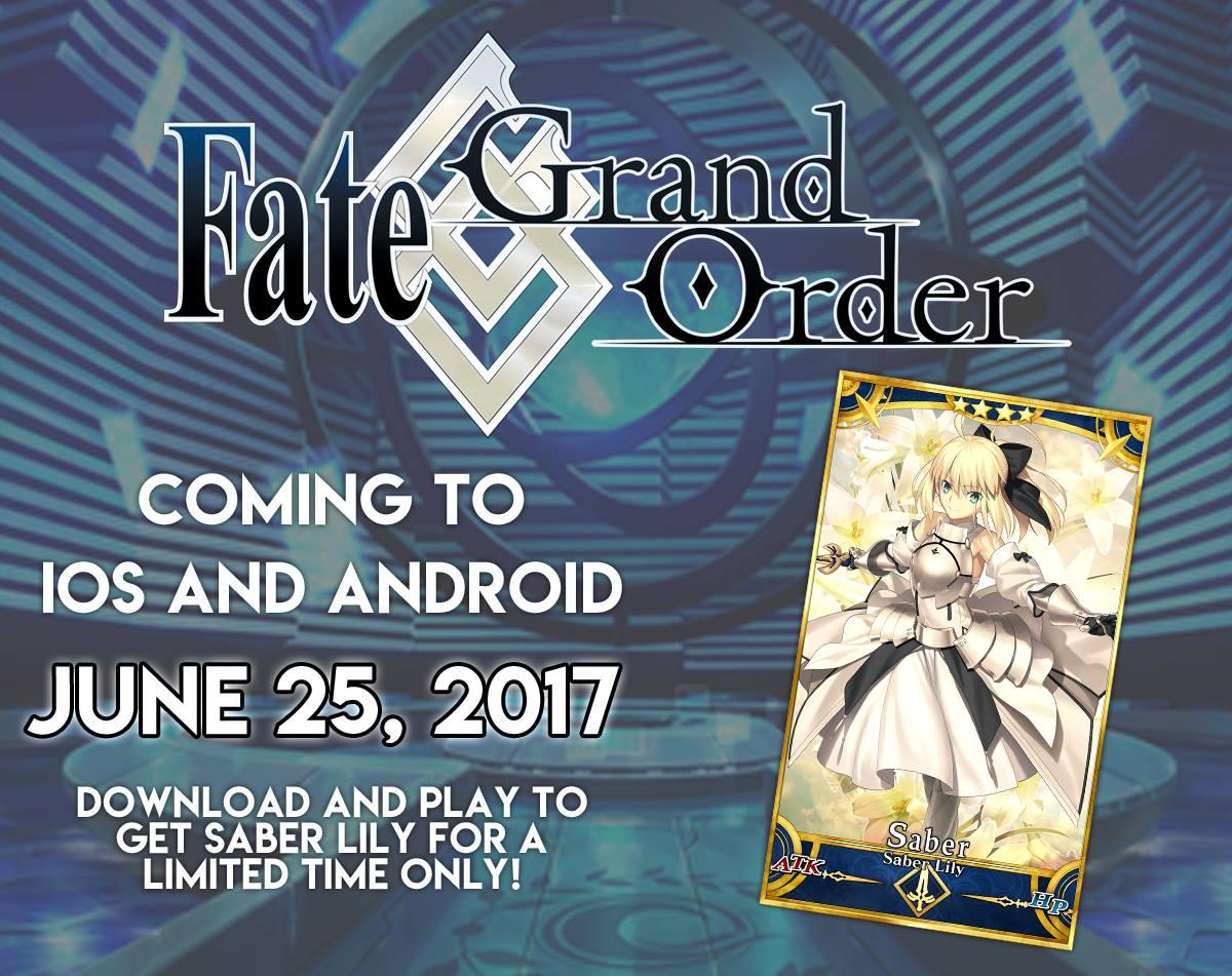 Fate Grand Order English