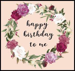 happy birthday to me ;)