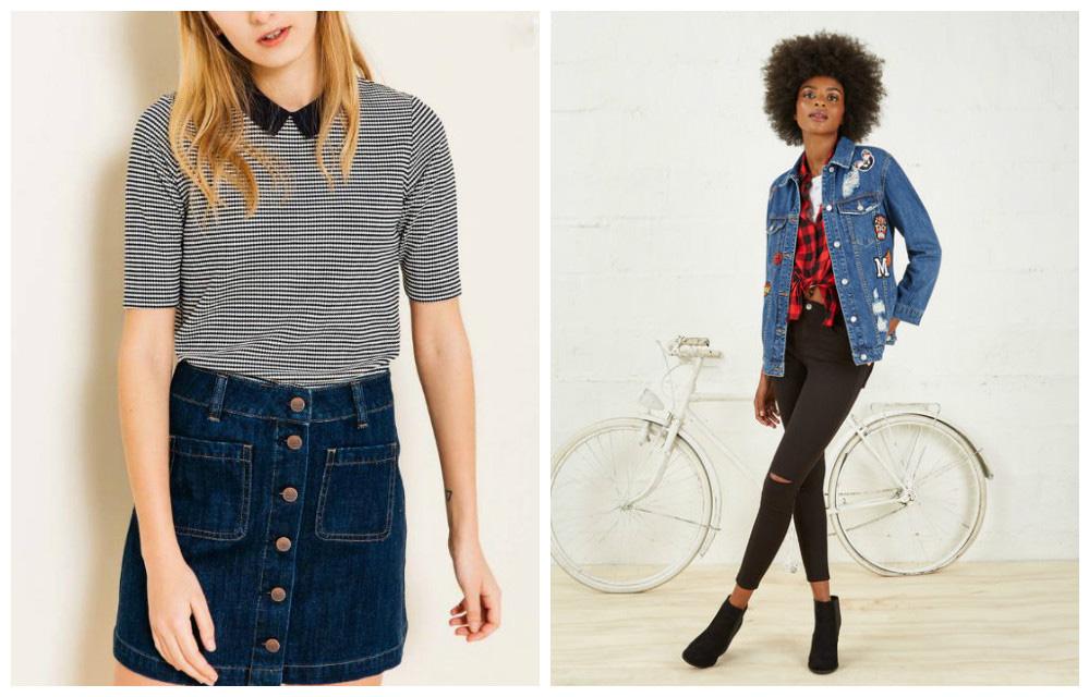 T-shirt Jacquard Bizzbee & jeans Jennyfer