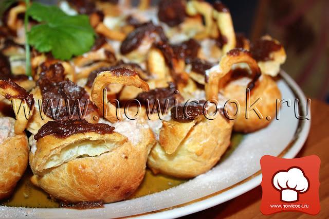 рецепт вкусных заварных пирожных