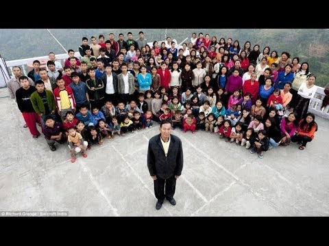 World's Biggest Family: This Man Has 39 Wives, 94 Children and 33 Grandchildren!