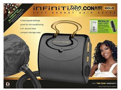 INFINITI PRO GOLD BY CONAIR® SOFT BONNET HAIR DRYER