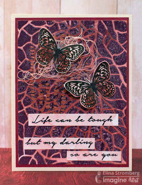 Cardmaking: Layers of Life