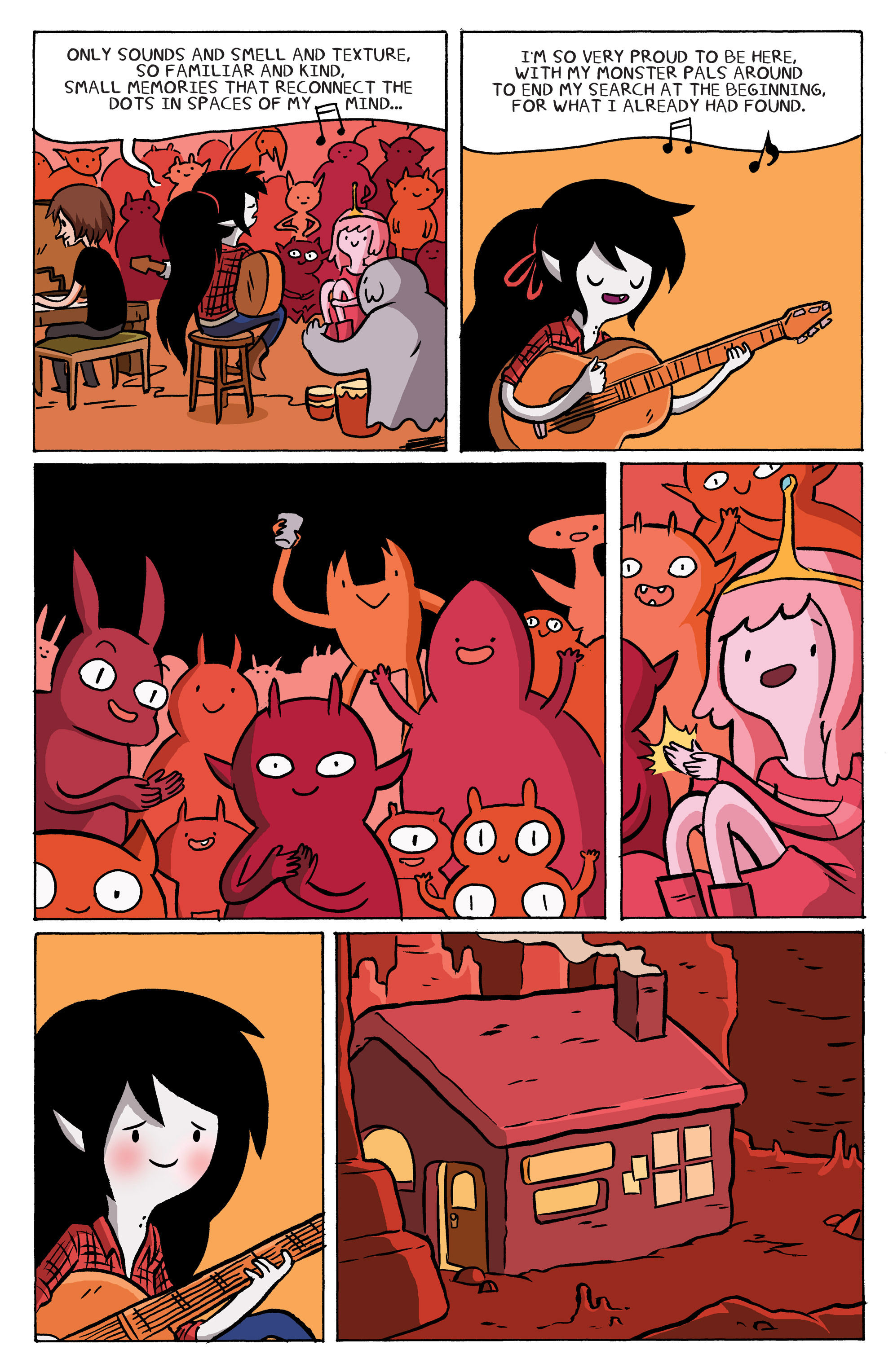 Read online Adventure Time: Marceline and the Scream Queens comic -  Issue #5 - 11