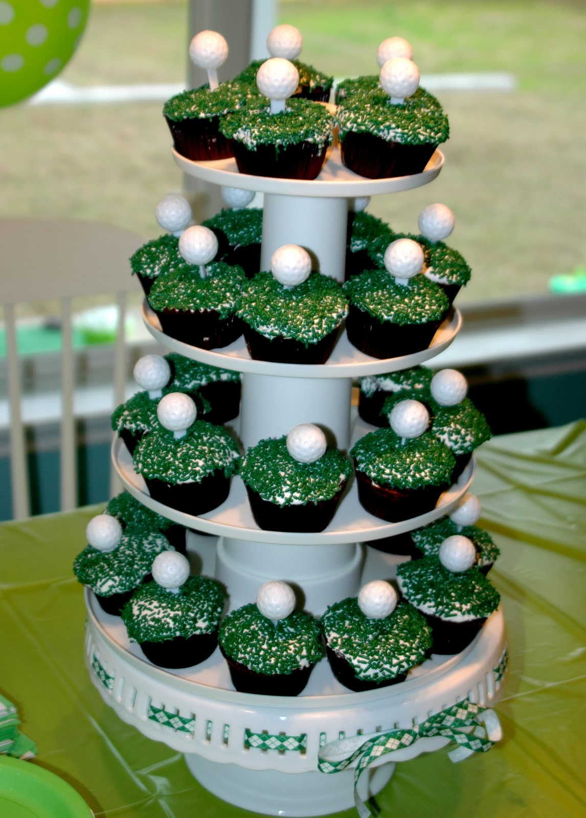 The Journey Of Parenthood Golf Party Decor