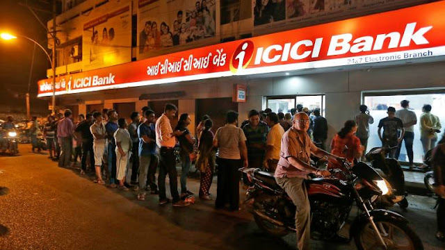 Bank shares mixed : ICICI Bank dips 1% ; Share market update