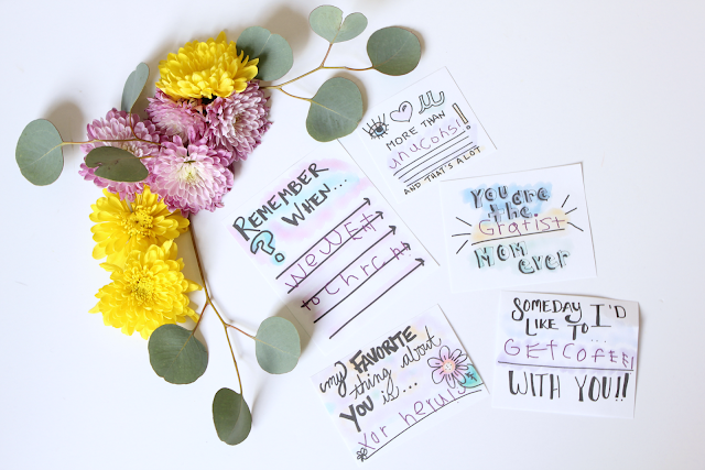 Hand Drawn Mother's Day Notes