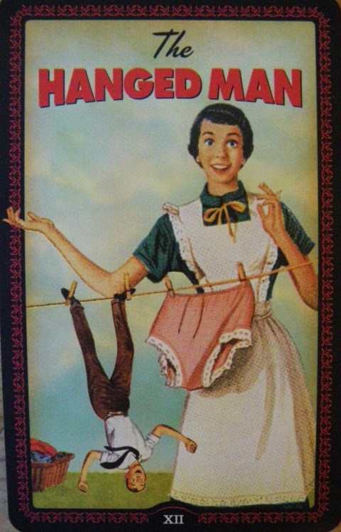 hanged man housewives tarot