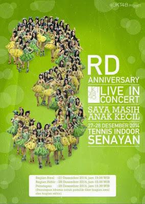 Download JKT48 3rd Anniversary Concert - Saya Masih Anak Kecil [DVD-Rip]