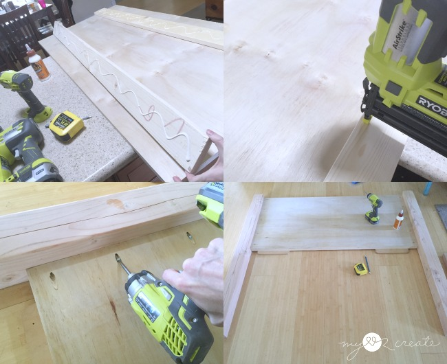 building head board and foot board