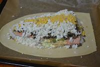 montaje capa de huevo cocido