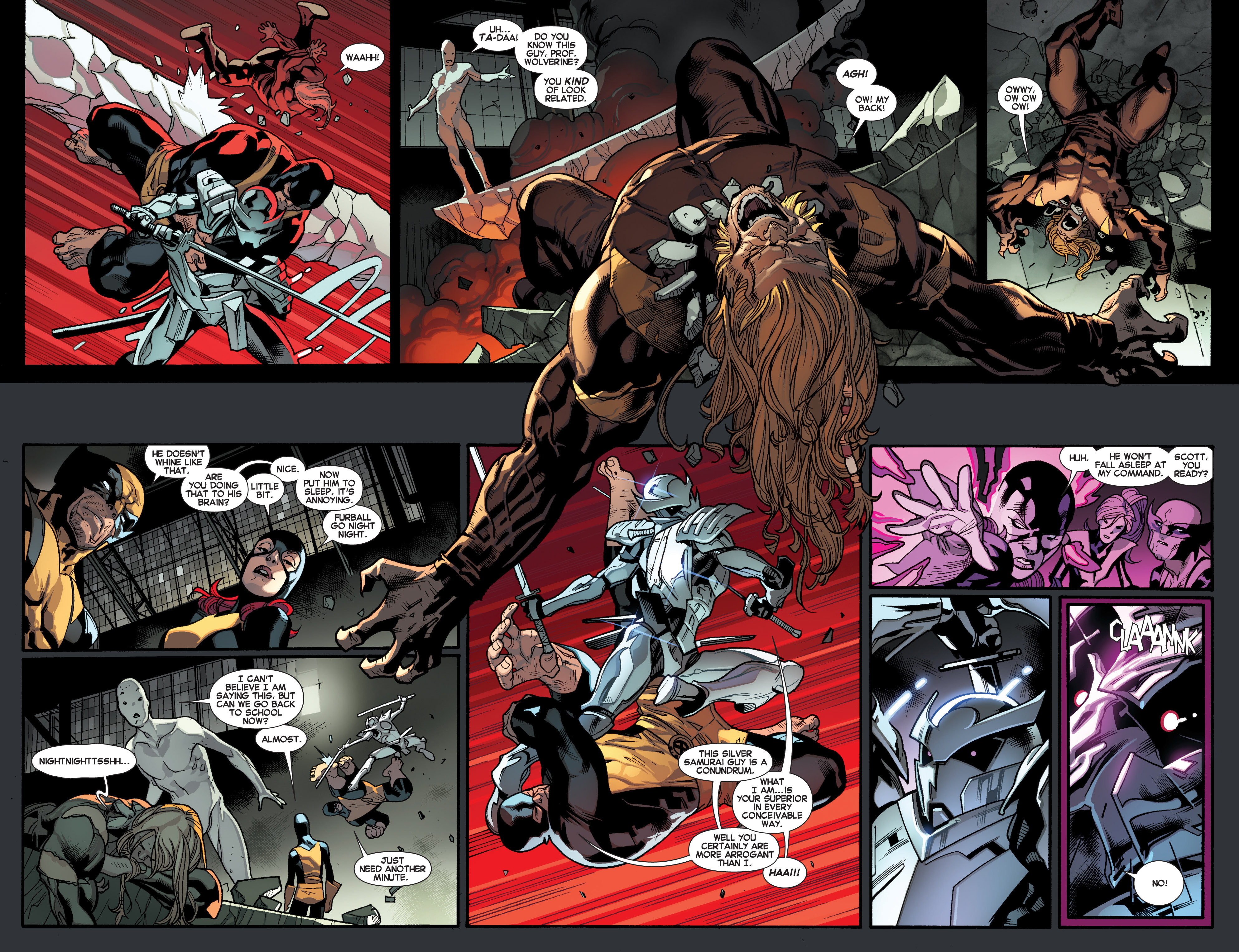 Read online All-New X-Men (2013) comic -  Issue # _Special - Out Of Their Depth - 79