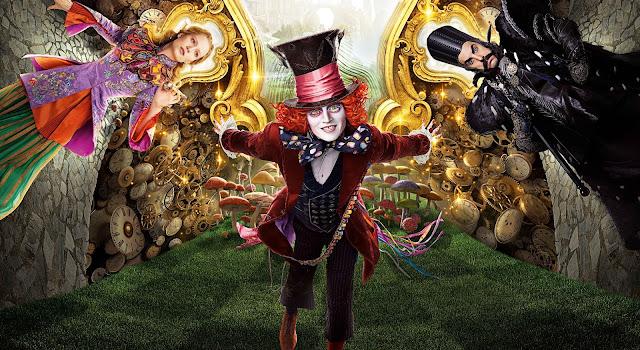 Assista ao novo trailer de Alice Através do Espelho, com Helena Bonham Carter e Johnny Depp